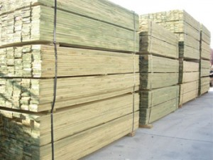 landscape timber supplies