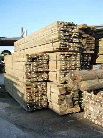 large supply of pine